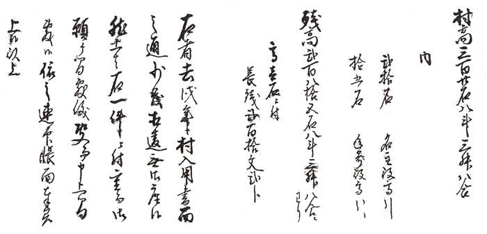 相違無御座候[村入用帳8] - 古文...